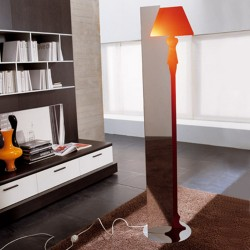 Hi/box floor lamp