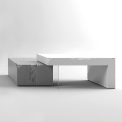 Slide coffee tables
