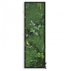 Picture Frame Delux whit lichen with leaves