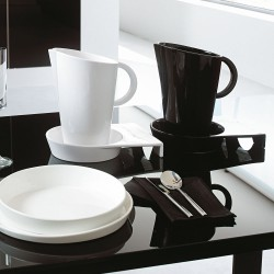 Set of Carafe and Trays