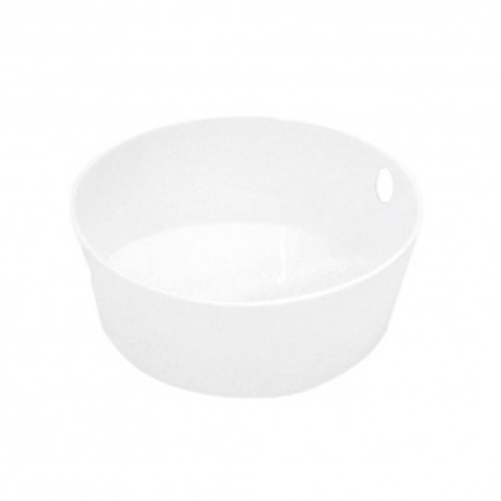 Salad bowl with holes