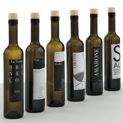 Set of 6 Wine Bottles