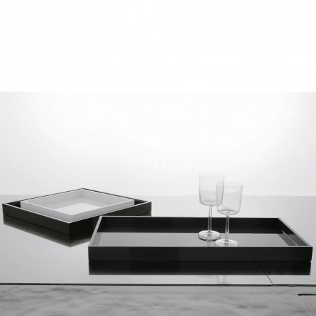 Lacquered Wooden Tray
