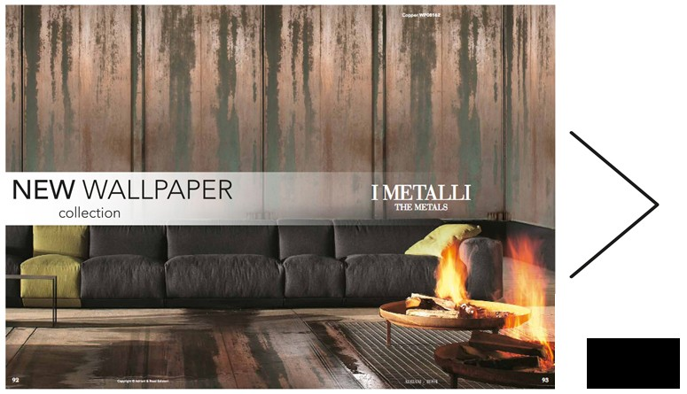 the new catalogue Wallpapers has arrived